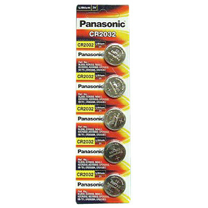 Panasonic CR2032-5BP(3V 225mAh) + 5개입 카드형