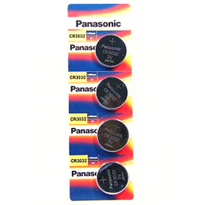 Panasonic CR3032-4BP(3V 500mAh) + 4개입 카드형