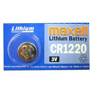 Maxell CR1220-BP(3V 38mAh)