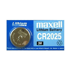 Maxell CR2025-BP(3V 170mAh)